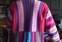 Strikket, knitted