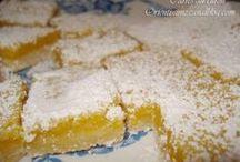 gâteaux citron / Orange