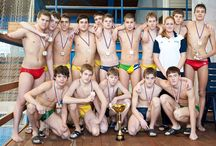 Russian swimmers / Swimmers, water polo, Underwater rugby