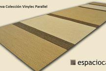Nueva collección Vinylec Parallel / ¿quieres una alfombra exclusiva en tu hogar?