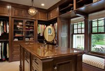 Storage and Closet Lighting / Storage and Closets Featuring Beautiful Hubbardton Forge Lighting.