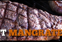 Time to grill! / We at ManGrate love grilled food: meat, fruit, veges, pizza...all of it!