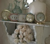 Cloches & Clocks,& Scales / by Sherry Ray
