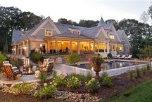 Dream Home Exterior / Beautiful exterior designs