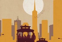 Travelling posters