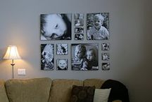 Interior Design With Photography / Great ways to decorate your home with the art of your family portraits. / by Karen Smith