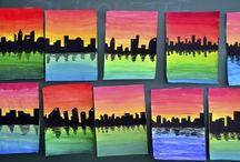 Város - tükörkép