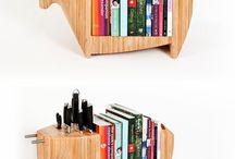 Bøger og indretning