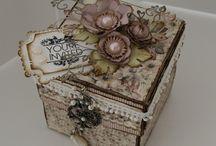 Открытки, коробочки сюрпризы и упаковка