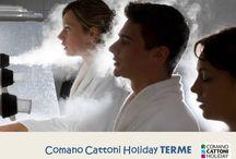 Comano Cattoni Holiday_TERME / Tutti i servizi offerti dalle rinomate Terme di Comano stazione termale in Trentino: cure dermatologiche, medical spa e trattamenti alle vie respiratorie