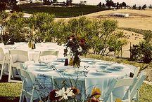 Tuscan Theme Wedding