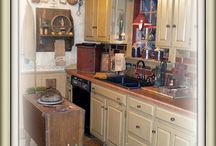 Primitive Kitchens♥ / by Lisa DeCicco