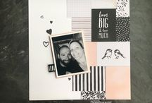 Stampin Up Layouts