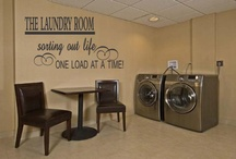 Laundry room / by Kimberly Hicks