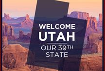 Our 39th State, Utah.