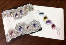 Zentangle gemstones
