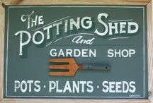 POTTING SHED DIY / We love this Potting Shed DIY blog post 'The House that Joe Built' by @nittygrittydirt. This is a great blog for gardeners who love to grow things naturally.  / by Vicki Payne