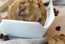 Choc chip cookies chunky