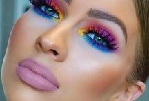 Maquiagem Olho Colorido