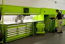 Workshop:Mechanical / Ideas for incorporating a mechanical area with in the workshop.