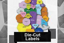 Art & Design / Elements that enforce your art & design of labels with SixB Labels