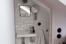 efficient living: bathrooms / functionality is full exercised to make up for lack of space.