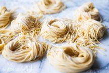 Pastas / by Heidi Adams