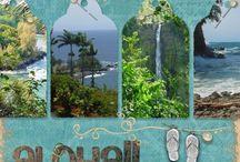 Hawaii scrapbook ideas