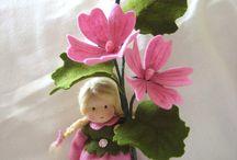 Jahreszeiten Puppen