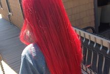 2018: BRIGHT RED HAIR