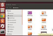 Como ativar o recurso de minimizar janela de aplicativo ao clicar no Lançador Unity