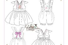 Alice Dress and Romper PDF Sewing Pattern