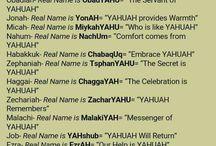 Names of Yah