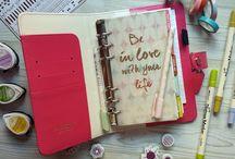 Decoración agenda Webster Pages / Ideas para decorar tu agenda