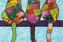 Cats quilts and so on / by Roseli Barbosa