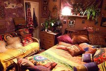 Gypsy Boho & magical bedrooms