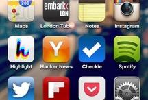 iPhone Homescreens / by Semil Shah