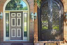 Iron Doors: Before & After / Check out some of our latest work - and the amazing transformations!