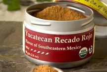 TTS Co. - Yucatecan Recado Rojo / Recado Rojo provides a rich earthy flavor to the cooking of the Yucatan Peninsula.  Traditionally, this spice blend is combined with citrus juice or vinegar to make a wet rub or marinade.  We find that this blend is also delicious added straight to meats, veggies and eggs.