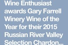 Wine Enthusiast awards Gary Farrell Winery Wine of the Year