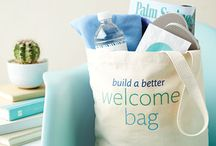 Welcome bags for your guest