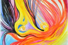 Colours are my life / My drawings and paintings. Colours from my soul