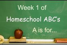 Homeschool ABC's Youtube Collab / Homeschool ABC's - a YouTube Homeschool Mom video collab.