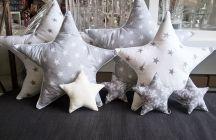 Przytulne dekoracje szyte :)