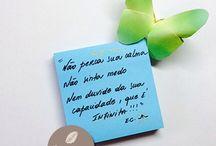 Mensagens / Palavras de Amor e Luz!