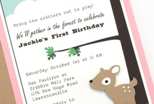 Abby's Deer Birthday Party!