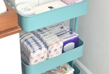 organization of a baby room