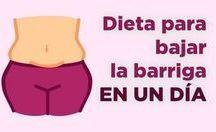dietas para bajar estomago