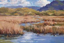 Julia Munger Seelos / Plein Air Oil Paintings by Julia Seelos