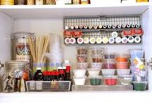 Apartment kitchen ideas / by Rebekah Field